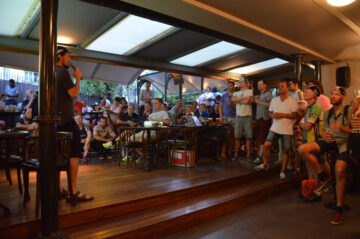 Mike Hall at the 2014 TCR finish party in Istanbul