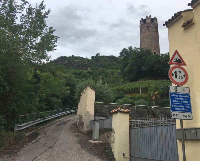 22% wall near Bolzano, Italy