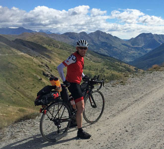 Chris White, Strada dell'Assietta, Transcontinental Race