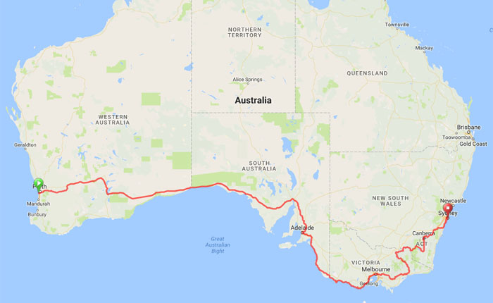 IPWR route