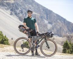 Mixed-terrain bikepacking
